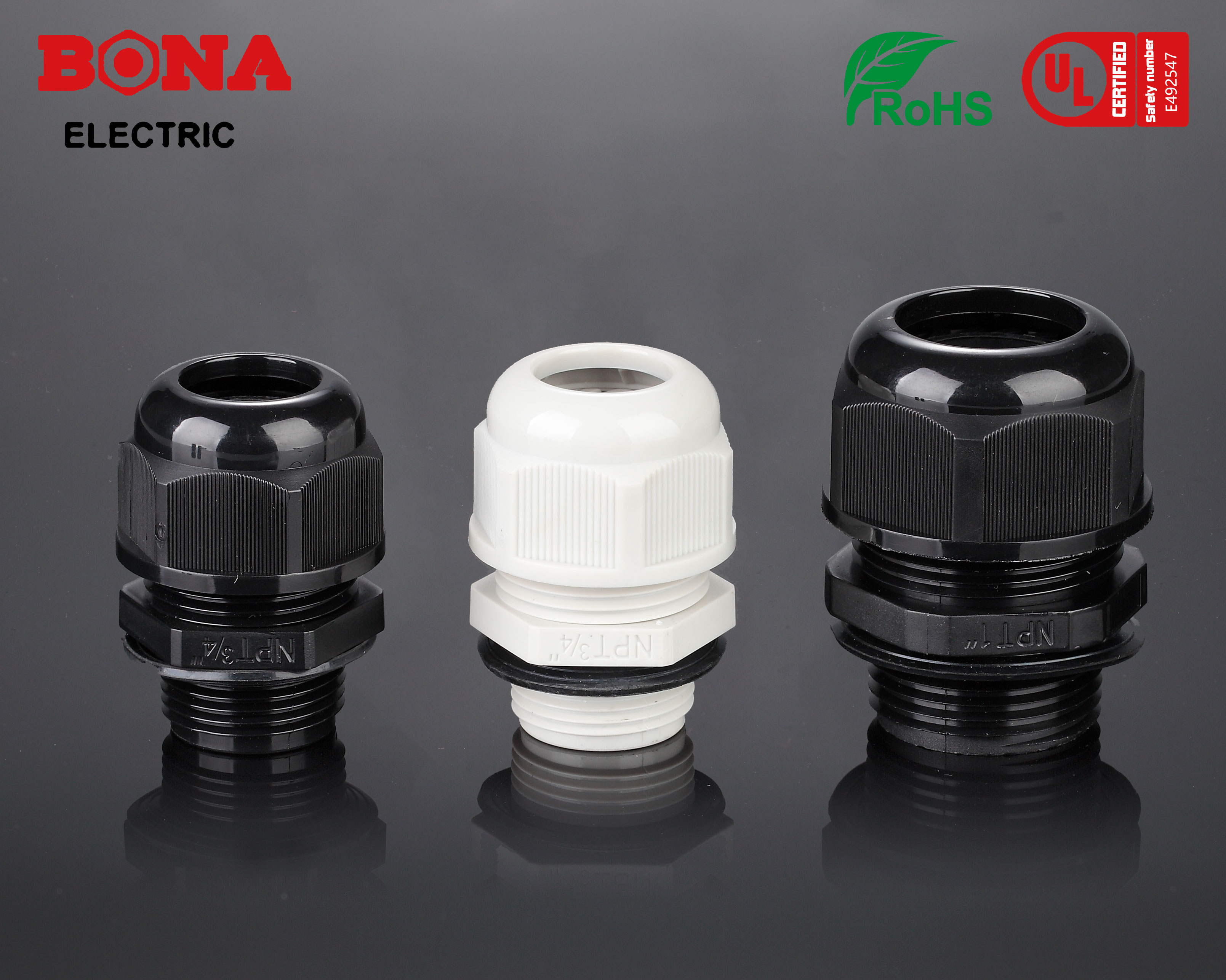 Nylon Cable Glands (NPT-Type)