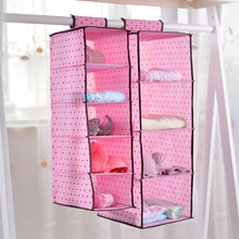Foldable Clothes Storage Hanging Wardrobe for Home