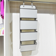 External Closet Rack Folding Wall Organizer for Office
