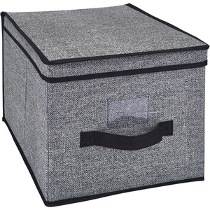 Ikea 33x38x33 drona cloth storage box grey
