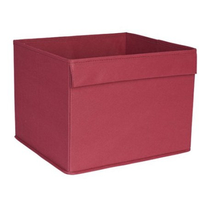 Ikea drona storage box red colours to fit kallax